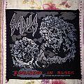 Sadus - Swallowed In black vintage patch