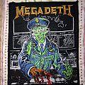 Megadeth-  Hanger 18 vintage patch