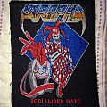 Atrophy - Socialized hate vintage patch