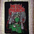 Metal church - Fake healer vintage patch