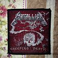 Metallica - Creeping death vintage patch