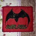 Overkill - Under The Influence Vintage Patch