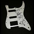 Trivium signed pickguard