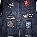 First Vest Work in Progress Battle Jacket