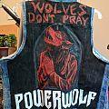 Powerwolf Lupus Dei Hand Painted Vest Battle Jacket