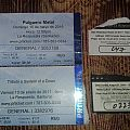 Tickets from last shows I went