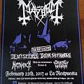 Mayhem Live in Puerto Rico flyer Other Collectable
