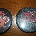Sepultura and Morbid Angel pins Other Collectable