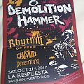 Demolition Hammer flyer  Other Collectable