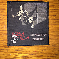 Flotsam and Jetsam - No Place For Disgrace Vintage Woven Patch