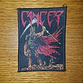 Cancer - Death Shall Rise Bootleg Woven Patch