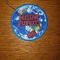Nuclear Assault - Handle With Care Woven Patch