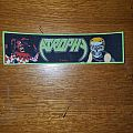 Atrophy - Socialized Hate / Violent by Nature Woven Strip Patch