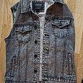 None - Battle Jacket - Jeans Vest size Medium