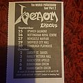 Venom - World Possession Tour - Part 2 newspaper clip Other Collectable