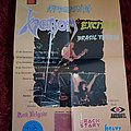 Venom + Exciter 1986 Brazilian tour poster Other Collectable