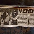 Venom - Other Collectable - Venom - newspaper clip