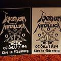 Venom - Other Collectable - Venom live at Nürnberg srickers