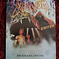 Venom + Exciter 1986 Brazilian tour program Other Collectable