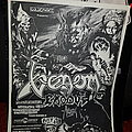 Venom/Exodus/Hirax California gig flier  Other Collectable