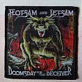 Official Flotsam & Jetsam woven patch