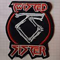 Twisted Sister Embroidered Patch