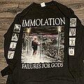Immolation - TShirt or Longsleeve - Immolation - Failures for gods tour 1999 OG LS