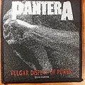 Pantera Vulgar Display Of Power Original Patch 1992