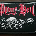 Power from Hell Patch woven