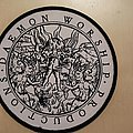 Daemon worship productions Patch woven