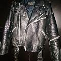 None - Battle Jacket - Wilhelm Krawehl Vintage Leather Biker Jacket Jofama Style