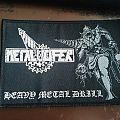 Metalucifer Heavy Metal Drill Patch woven