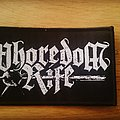 Whoredom Rife Patch woven