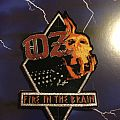 OZ Fire In The Brain Shaped Patch