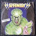 "Randy - Tape / Vinyl / CD / Recording etc - Randy Shadows Are Falling / The Beast 7"" (Signed)"