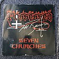 Possessed Seven Churches LP (Signed)
