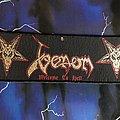 Venom - Patch - Venom Welcome To Hell