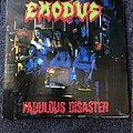 Exodus Fabulous Disaster LP (Signed) Tape / Vinyl / CD / Recording etc