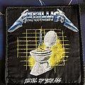 Metallica - Patch - Metallica Metal Up Your Ass