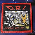 D.R.I. - Patch - D.R.I. Dealing With It
