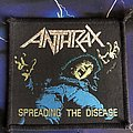 Anthrax - Patch - Anthrax Spreading The Disease
