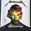 Metallica Hardwired To Self-Destruct LP (Signed)