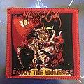 Massacra - Patch - Massacra Enjoy The Violence