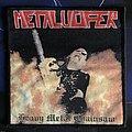 Metalucifer - Patch - Metalucifer Heavy Metal Chainsaw
