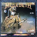 Megadeth So Far So Good So What LP (Signed)