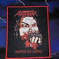 Anthrax Fistful Of Metal Patch
