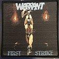 Warrant - Patch - Warrant First Strike