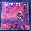 Megadeth Peace Sells But Who's Buying LP (Signed)