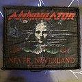 Annihilator - Patch - Annihilator Never Neverland