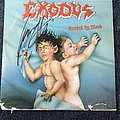 Exodus Bonded By Blood LP (Signed)